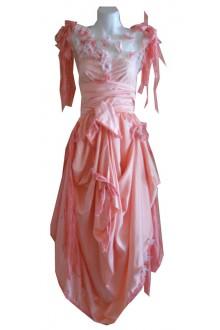 HARAH DESIGNS NIGNON RAW EDGE PETAL DRESS